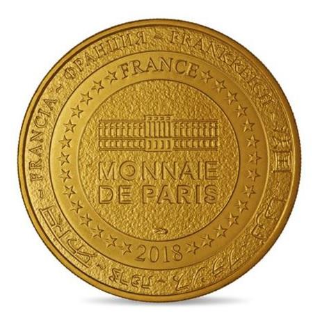 (FMED.Méd.tourist.2018.CuAlNi1.spl) Jeton touristique - Monnaie de Paris Revers
