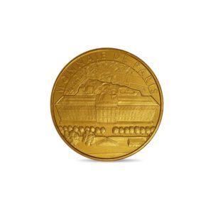 (FMED.Méd.tourist.2018.CuAlNi1.spl) Tourism token - French Mint Obverse (zoom)
