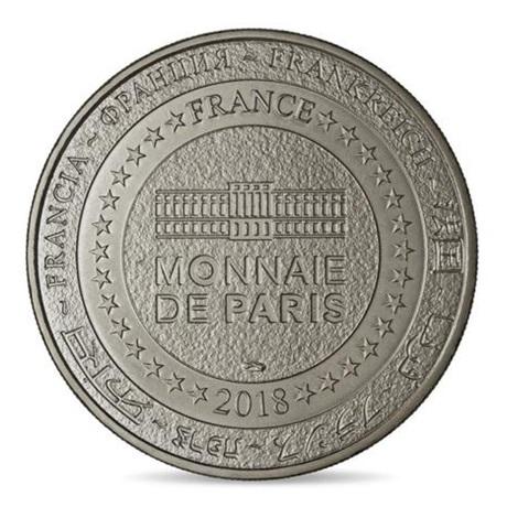 (FMED.Méd.tourist.2018.CuNi1.spl) Jeton touristique - Monnaie de Paris Revers