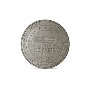 (FMED.Méd.tourist.2018.CuNi1.spl) Tourism token - French Mint Reverse (zoom)