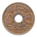 (FMO.010.1918.7.2.tb.000000001) 10 centimes Lindauer 1918 Revers
