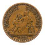 (FMO.1.1922.19.3.b+[]tb.000000001) 1 Franc Chambres de commerce 1922 Avers