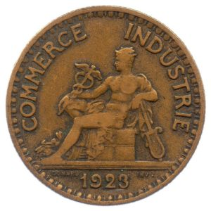 (FMO.2.1923.17.4.tb.000000001) 2 Francs Chambers of Commerce 1923 Obverse (zoom)