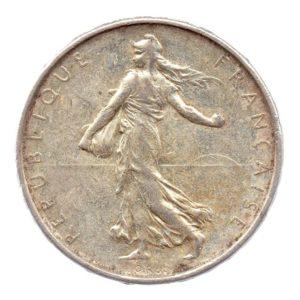 (FMO.5.1961.50.2.ttb.000000001) 5 Francs Semeuse 1961 Avers