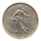(FMO.5.1964.50.5.ttb.000000002) 5 Francs Semeuse 1964 Avers