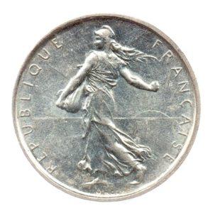 (FMO.5.1965.50.6.cp6.spl.000000001) 5 Francs Semeuse 1965 Avers