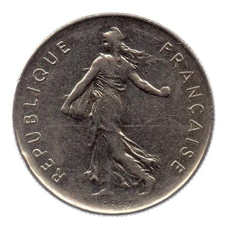(FMO.5.1972.51.3.tb.000000002) 5 Francs Semeuse 1972 Avers