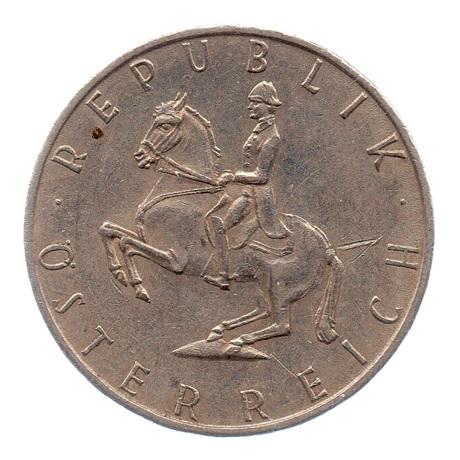 (W018.500.1971.1.ttb.000000001) 5 Schilling Cavalier 1971 Avers