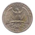 (W071.025.1996_D.1.167.ttb+.000000001) 0,25 Dollar Washington 1996 D Revers