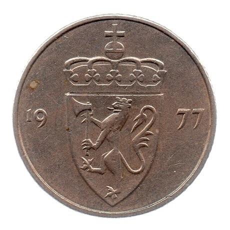(W161.050.1977.1.ttb.000000001) 50 Ore Armes 1977 Avers