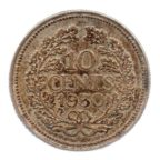 (W172.010.1930.1.ttb.000000001) 10 cents Wilhelmine 1930 Revers