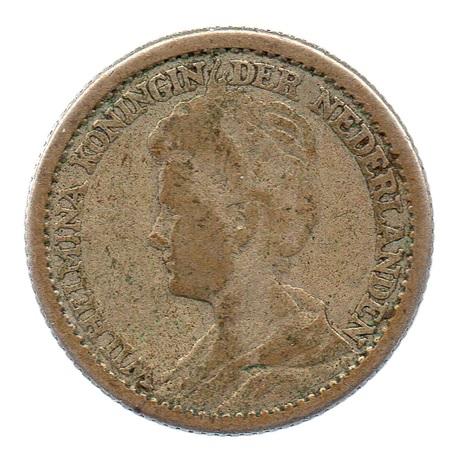 (W172.025.1914.1.b.000000001) 25 cents Wilhelmine 1914 Avers
