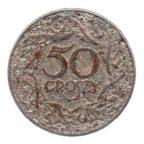 (W175.050.1938.1.tb.000000001) 50 Groszy Aigle 1938 Revers