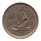 (W219.010.1965.1.ttb.000000001) 10 Cents Elisabeth II 1965 Revers