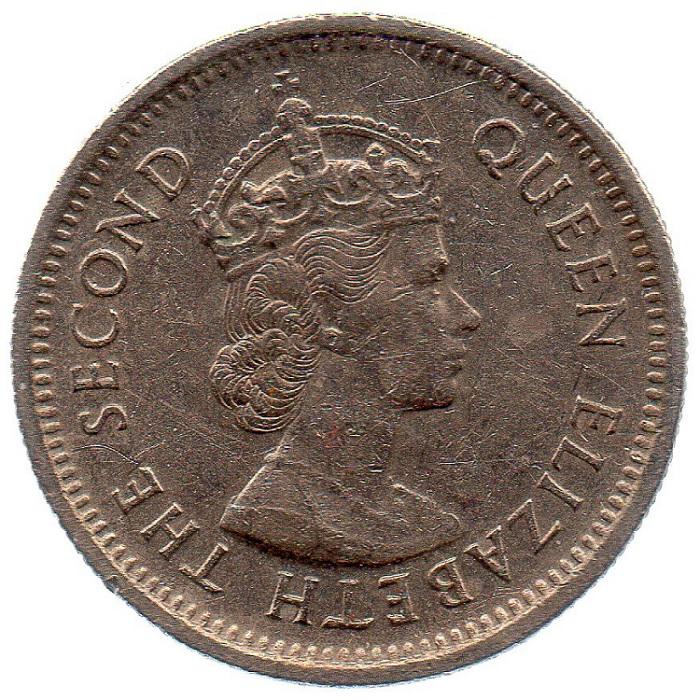 1965 queen elizabeth the second coin