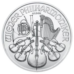 1,50 euro Austria 2018 1 ounce fine silver - Vienna Philharmonic Orchestra Reverse (zoom)