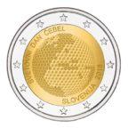 2 euro commémorative Slovénie 2018 - Journée mondiale des abeilles
