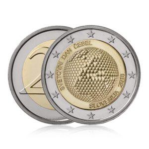 2 euro commémorative Slovénie 2018 - Journée mondiale des abeilles (visuel supplémentaire)