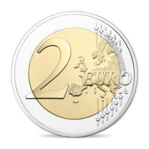 2 euro commemorative coin France 2018 Proof - Cornflower Reverse (zoom)