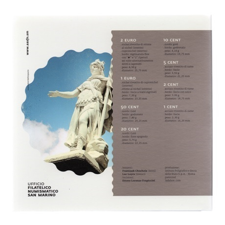 (EUR18.CofBU&FDC.2015.Cof-BU.000000001) Coffret BU Saint-Marin 2015 Verso