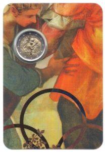 (EUR18.ComBU&BE.2018.200.BU.COM1.000000002) 2 euro commémorative Saint-Marin 2018 BU - Tintoretto Recto (zoom)