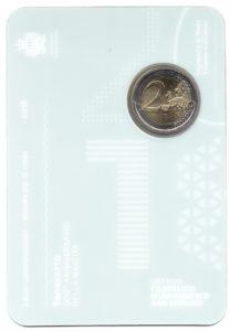 (EUR18.ComBU&BE.2018.200.BU.COM1.000000002) 2 euro commémorative Saint-Marin 2018 BU - Tintoretto Verso (zoom)