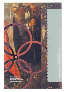 (EUR18.ComBU&BE.2018.200.BU.COM1.000000002) 2 euro commemorative coin San Marino 2018 BU - Tintoretto Back (zoom)