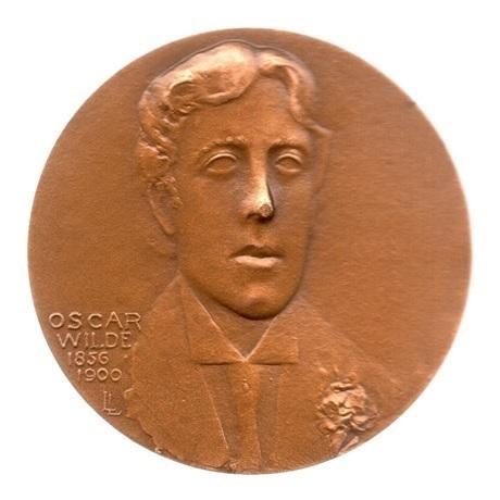 (FMED.Méd.MdP.1981.CuSn1.spl.000000001) Médaille bronze - Oscar Wilde Avers