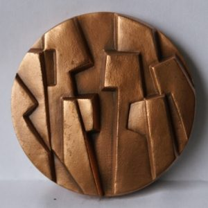 (FMED.Méd.MdP.Cu-1.cp7.000000001) Médaille cuivre - Dialogue, par Carréga Revers