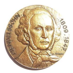 (FMED.Méd.MdP.CuSn105.1.spl.000000001) Bronze medal - Felix Mendelssohn Obverse (zoom)