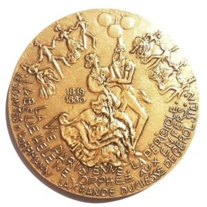 (FMED.Méd.MdP.CuSn118.-1.spl.000000001) Bronze medal - Jacques Offenbach Reverse (zoom)