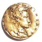 (FMED.Méd.MdP.CuSn12.1.spl.000000001) Médaille bronze - Arthur Rimbaud Avers