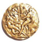 (FMED.Méd.MdP.CuSn12.1.spl.000000001) Médaille bronze - Arthur Rimbaud Revers
