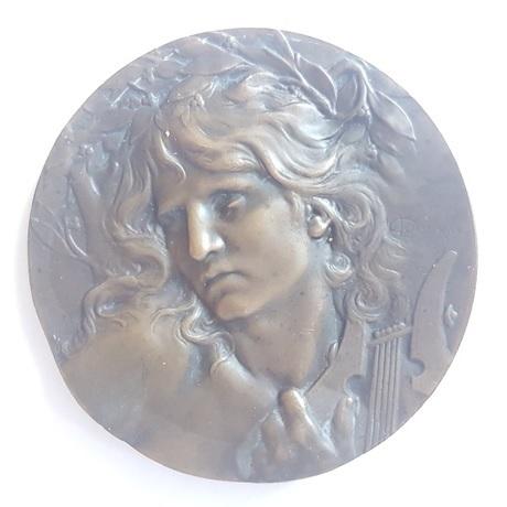(FMED.Méd.MdP.CuSn120.1.sup.000000001) Médaille bronze - Orphée Avers