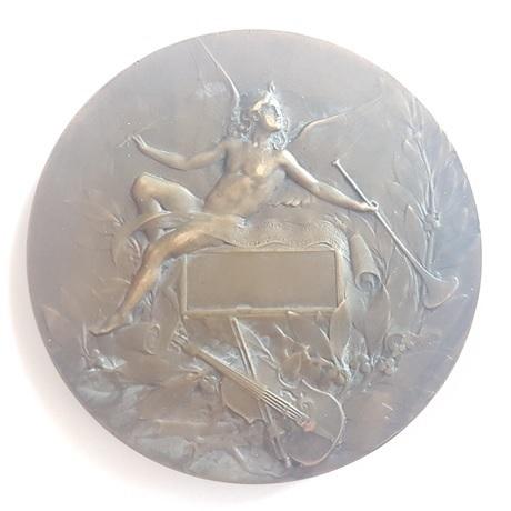 (FMED.Méd.MdP.CuSn120.1.sup.000000001) Médaille bronze - Orphée Revers