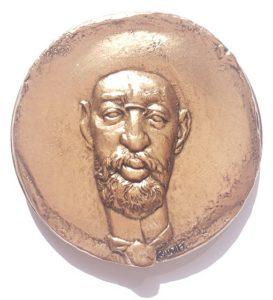 (FMED.Méd.MdP.CuSn159.1.spl.000000001) Bronze medal - Henri de Toulouse Lautrec Obverse (zoom)