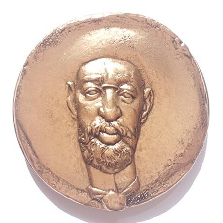 (FMED.Méd.MdP.CuSn159.1.spl.000000001) Médaille bronze - Toulouse Lautrec Avers