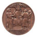 (FMED.Méd.MdP.CuSn24.spl.000000001) Médaille bronze - Château de Vincennes Revers