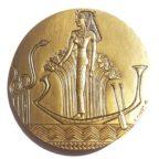 (FMED.Méd.MdP.CuSn27.spl.000000001) Médaille bronze - Cléopâtre Revers