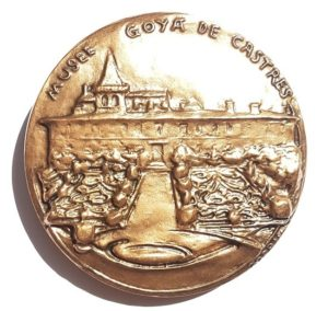 (FMED.Méd.MdP.CuSn52.1.spl.000000001) Bronze medal - Francisco Goya y Lucientes Reverse (zoom)