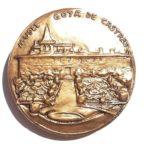 (FMED.Méd.MdP.CuSn52.1.spl.000000001) Médaille bronze - Francisco de Goya Revers