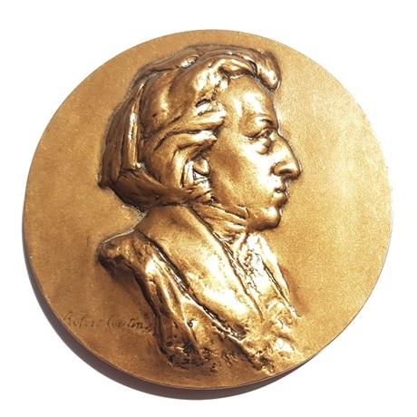 (FMED.Méd.MdP.CuSn54.spl.000000001) Médaille bronze - Chopin Avers