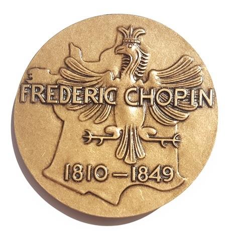 (FMED.Méd.MdP.CuSn54.spl.000000001) Médaille bronze - Chopin Revers