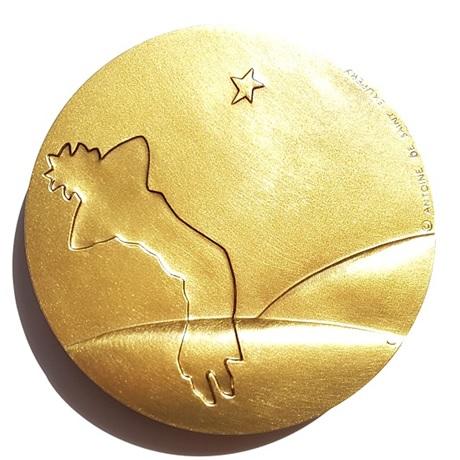 (FMED.Méd.MdP.CuSn86.spl.000000001) Médaille bronze - Le Petit Prince Revers