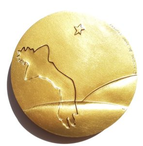 (FMED.Méd.MdP.CuSn86.spl.000000001) Médaille bronze - The Little Prince Reverse (zoom)