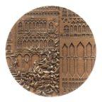 (FMED.Méd.MdP.CuZn20.spl.000000001) Médaille bronze florentin - Venise Avers