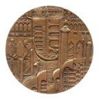 (FMED.Méd.MdP.CuZn20.spl.000000001) Médaille bronze florentin - Venise Revers