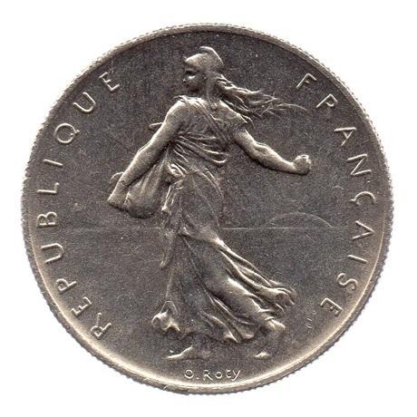 (FMO.1.1960.27.2.cp6.sup.000000001) 1 Franc Semeuse 1960 (gros 0) Avers