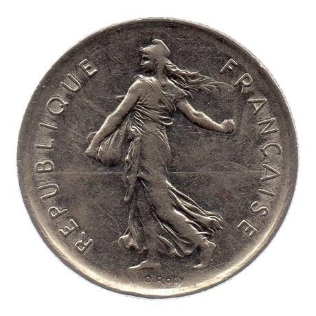(FMO.5.1971.51.2.ttb.000000002) 5 Francs Semeuse 1971 Avers