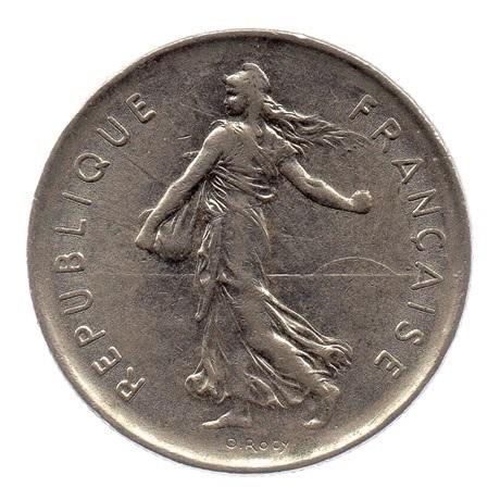(FMO.5.1971.51.2.ttb.000000003) 5 Francs Semeuse 1971 Avers